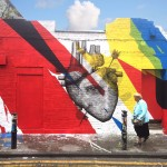 Elian & Alexis Diaz collaborate on a new piece in London, UK