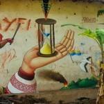 """Interesni Kazki """"Time For Change"""" New Mural – Varkala, India"""