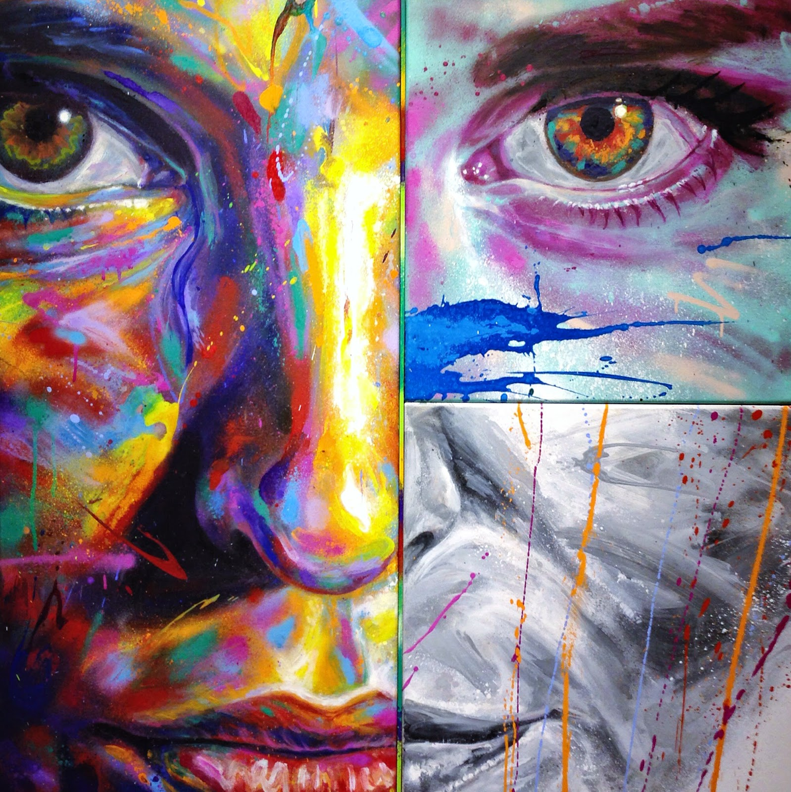 """Coverage: David Walker's London Solo Show """"A Blank Canvas is a White Flag"""""""