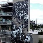 JAZ New Mural In Atlanta, USA (Part II)