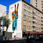 "REKA ""Peace. Man"" New Mural – San Francisco, USA"