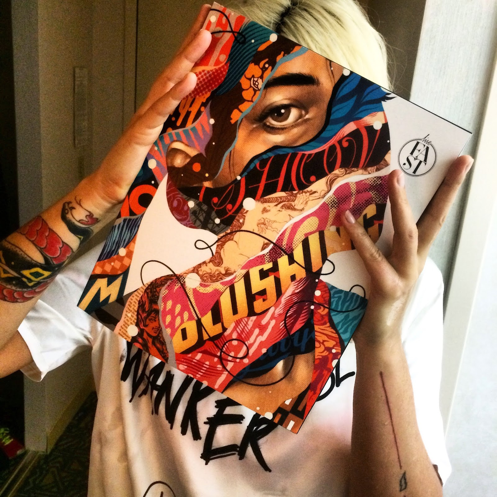 Release: Live Fast Mag Issue #1 with Tristan Eaton, Cyrcle…