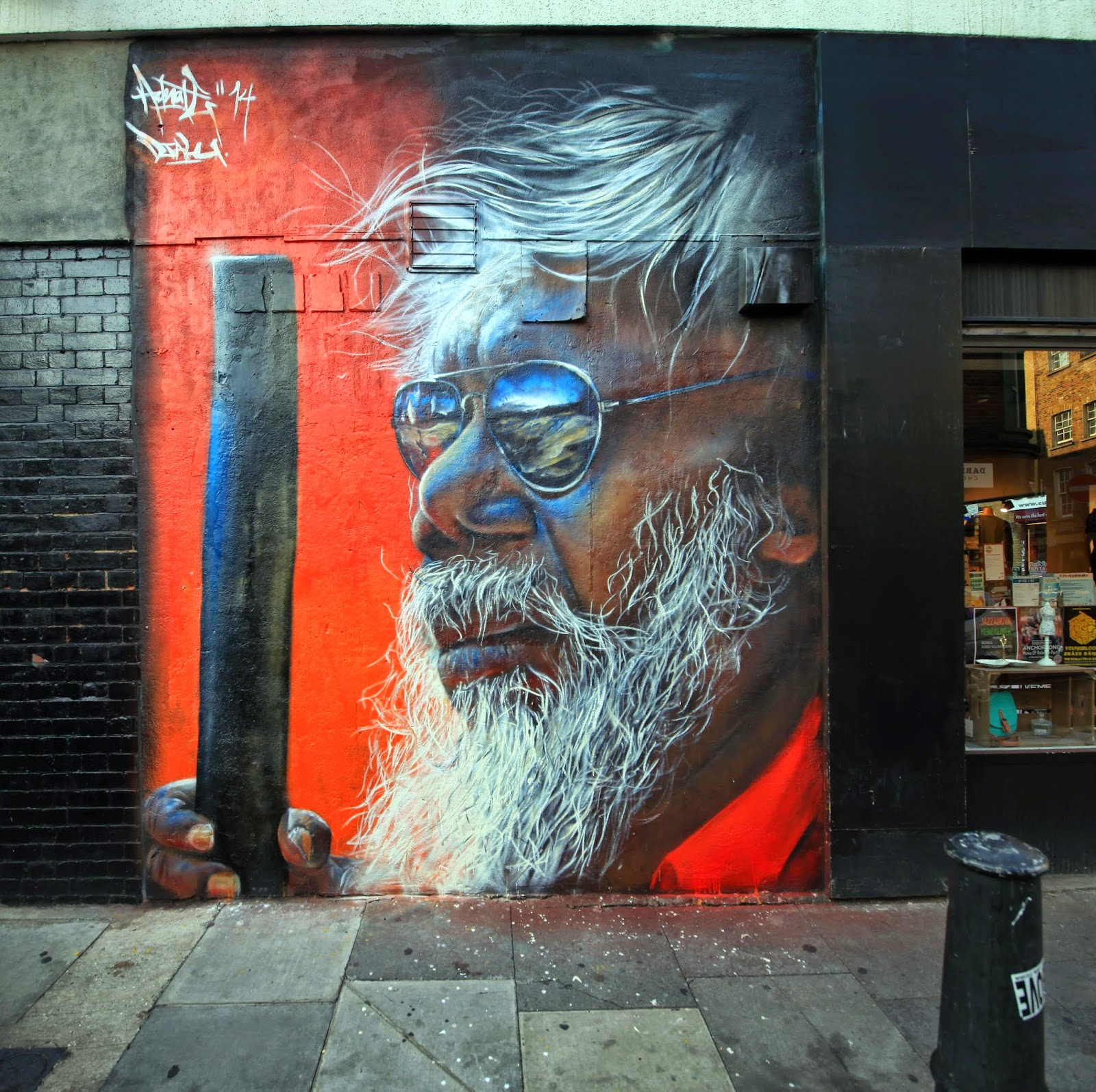 Adnate New Pieces – London, UK