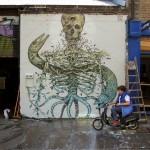 Alexis Diaz New Mural – Brick Lane, London