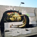 Jack Tml New Mural In Tel-Aviv, Israel