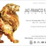 JAZ Barcelona Solo Show May 17th