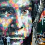 "Eduardo Kobra ""Peace"" New Mural – Rome, Italy"
