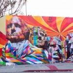 Eduardo Kobra New Mural In Los Angeles