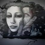 Bom.K x Liliwenn New Mural In Ris Orangis, France