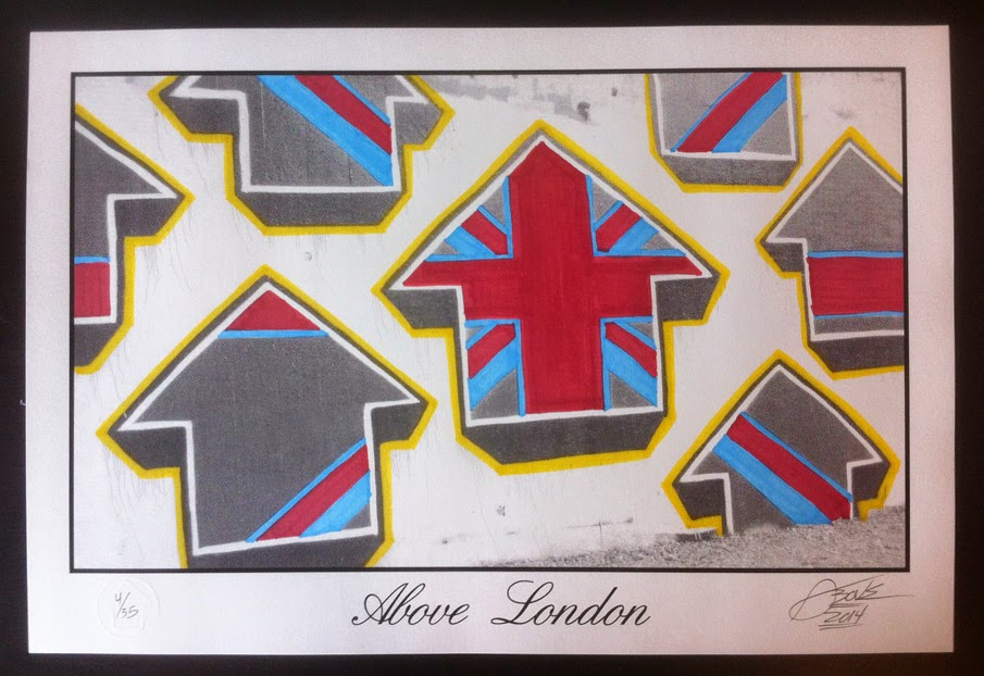 """Above """"London"""" New Print Release"""