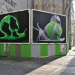 Ludo x OX New Billboards In Paris, France