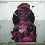 Never2501 x James Kalinda New Murals In Parma, Italy