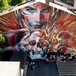 Rone x Meggs New Mural In Melbourne, Australia