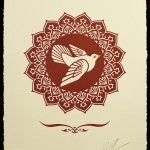 "Shepard Fairey ""Peace Dove"" New Print Available March 5th"