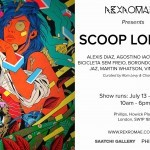 "Preview: ""Scoop London"" Group Exhibition with Borondo, Alexis Diaz, Martin Whatson… @ London's RexRomae"