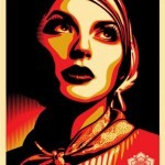 """Shepard Fairey """"Rise Above Rebel"""" New Print Available September 15th"""