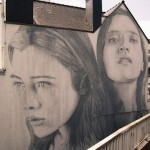 RONE paints a new mural in Vannes, France