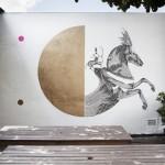 Never2501 New Mural In Sao Paulo, Brazil