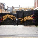 "Otto Schade ""You've Got The Power"" New Mural In London"