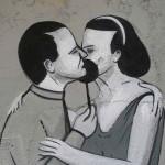 "Escif ""Patriotism"" & ""White Kiss"" New Murals In Valencia, Spain"