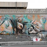Alice Pasquini New Mural In Roma, Italy