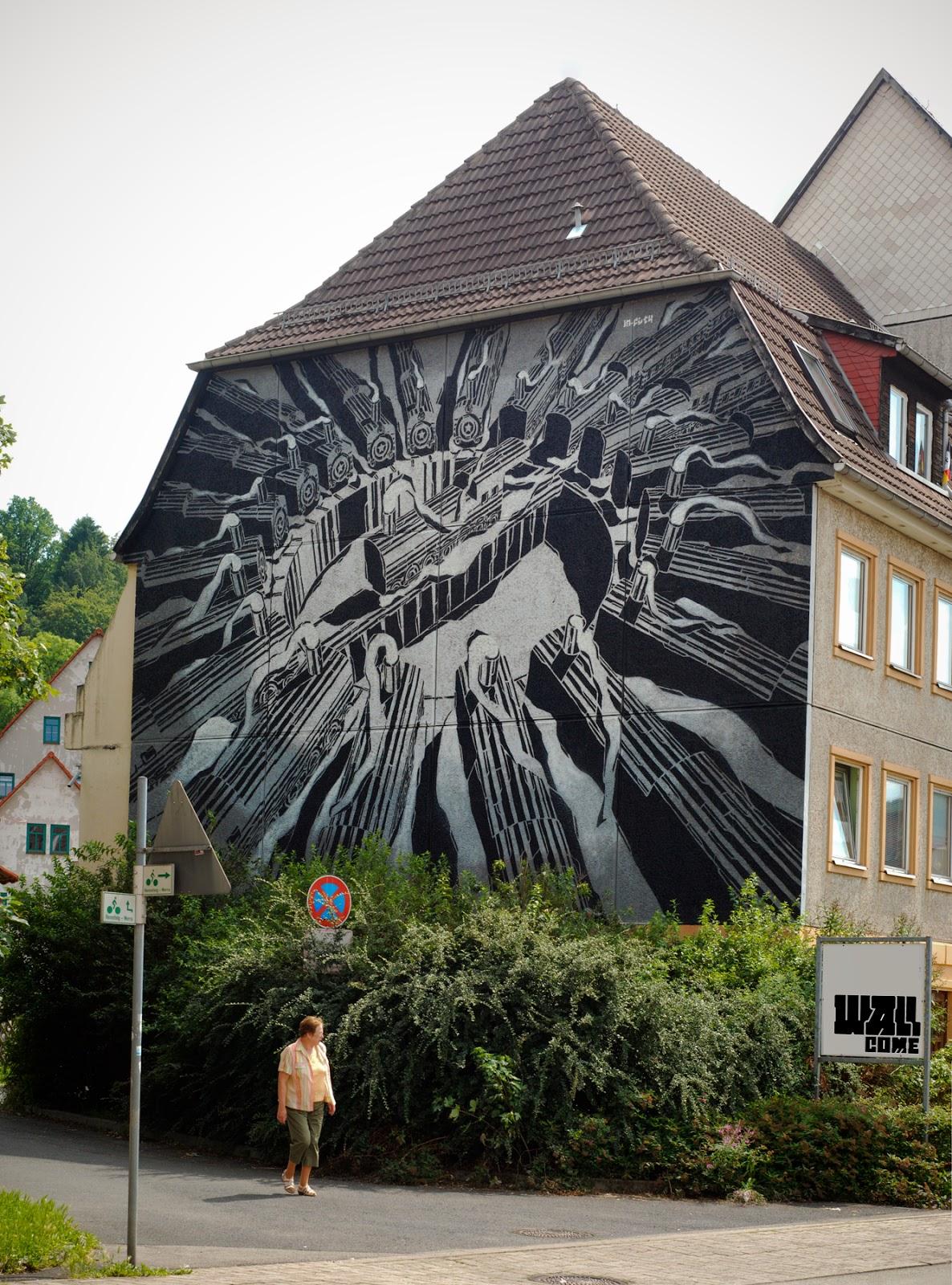 M-City New Mural – Schmalkalden, Germany
