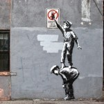 Banksy New Artists Residency and Street Art in Chinatown – New York City, USA