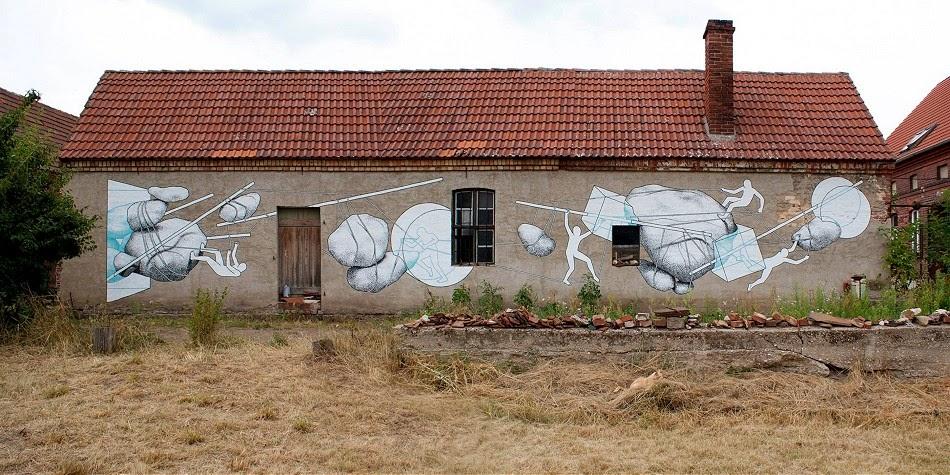 Daan Botlek New Mural – Brückmühle, Germany