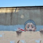Ernest Zacharevic Street Pieces in Barcelona