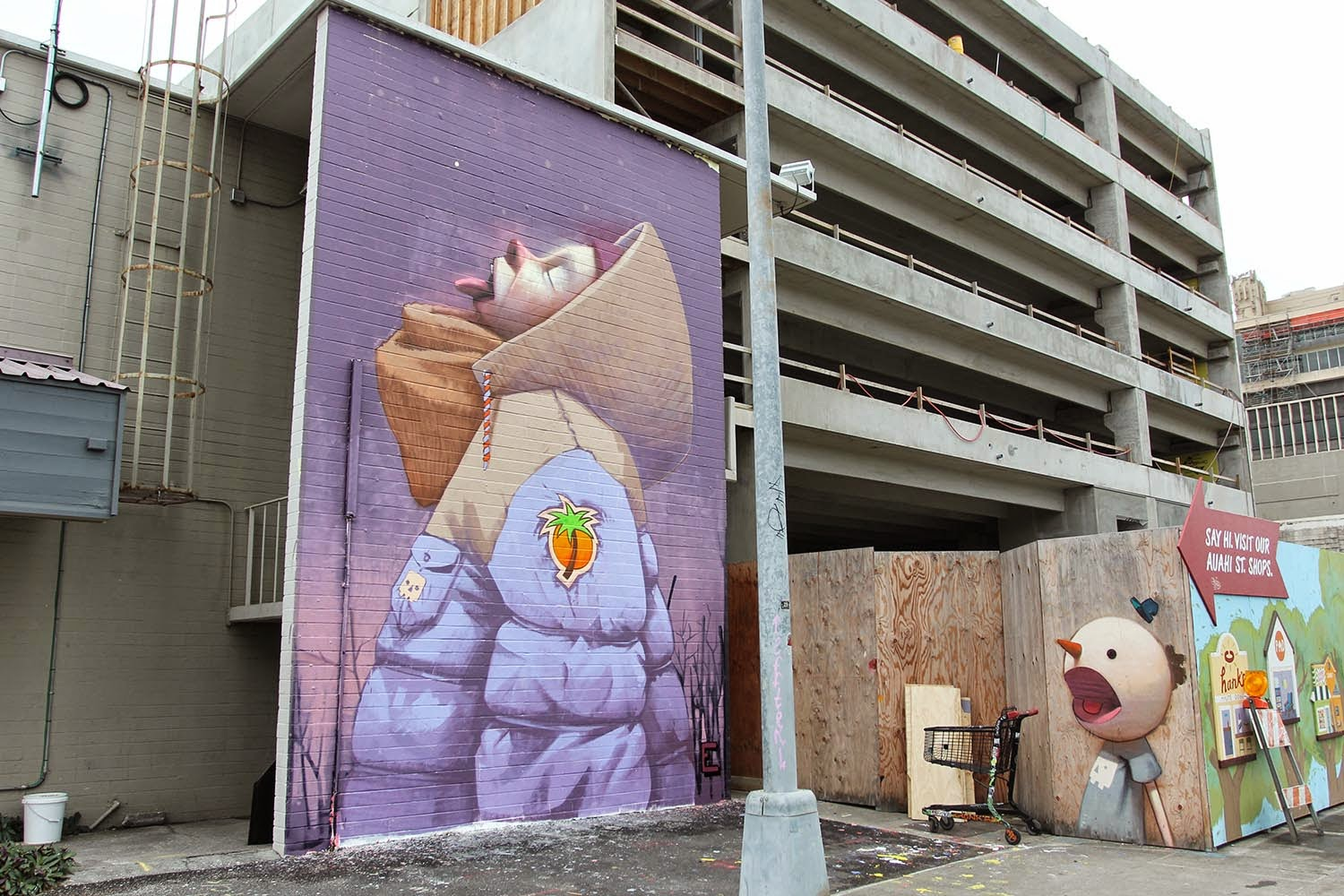 Pow! Wow! '15: Etam Cru creates a new mural in Hawaii
