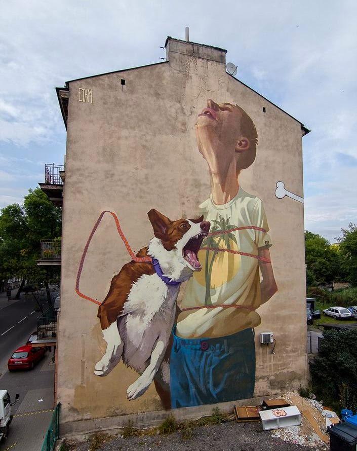 Etam Cru New Mural – Lubin, Poland
