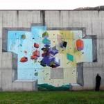 Etnik New Street Art Piece – Tirano, Italy