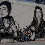 "Fin DAC x Angelina Christina ""The Slithereens"" New Street Art – Denver, USA"