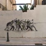 "Escif ""Guillotina"" New Mural In Valencia, Spain"