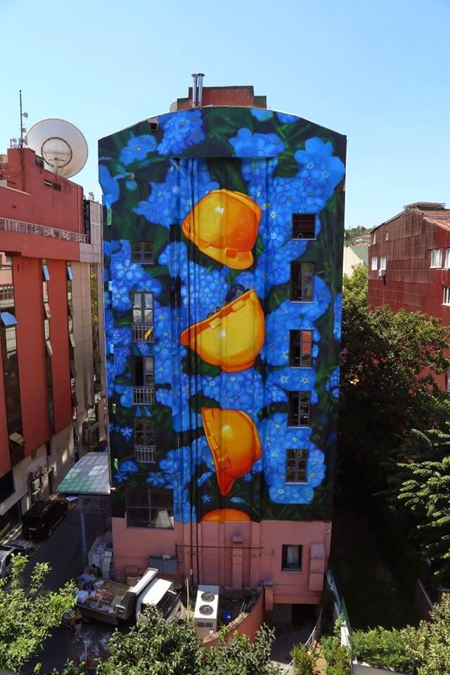 Gaia New Mural – Istanbul, Turkey