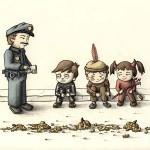"Snyder x StreetArtNews ""Halloween 2011 Doodle"" Giveaway"
