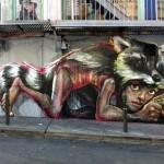 Herakut New Mural In San Francisco