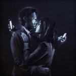 "Banksy ""Mobile Lovers"" New Mural – Bristol,UK"