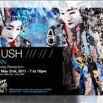 "Hush ""Twins"" New Solo Show, Los Angeles May 21st"