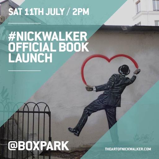 """Nick Walker """"The Art Of Nick Walker"""" London Book Launch – July 11th"""