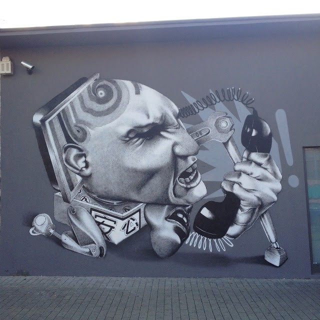 Claudio Ethos creates a series of new pieces in Dortmund & Koln