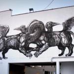 LA Pandilla x Jaz New Mural In Lima, Peru