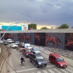 JAZ New Mural For Proyecto Puente – Cordoba, Argentina