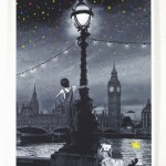"""Roamcouch """"When You Wish Upon A Star-London"""" Limited Edition Screen Print"""