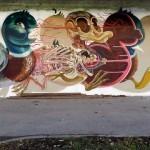 """Nychos """"Dissected Duck"""" New Street Piece – Alterlaa, Vienna"""