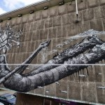Phlegm New Mural For Day One Festival – Antwerp, Belgium