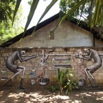 Phlegm New Mural In Tangalla, Sri Lanka