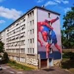 JAZ New Mural For Bien Urbain '14 – Besancon, France
