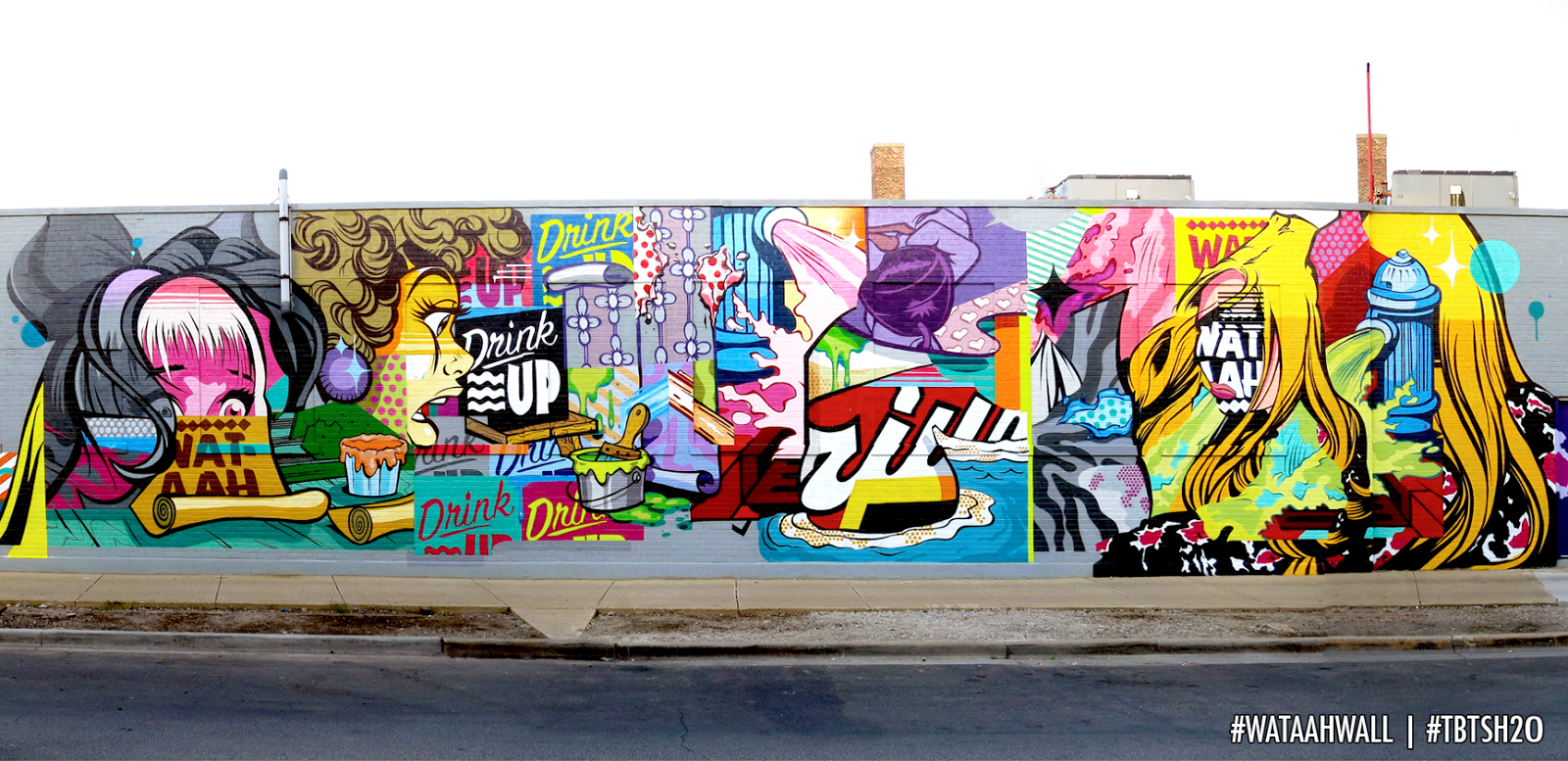 Streetartnews Pose New Mural Chicago Usa