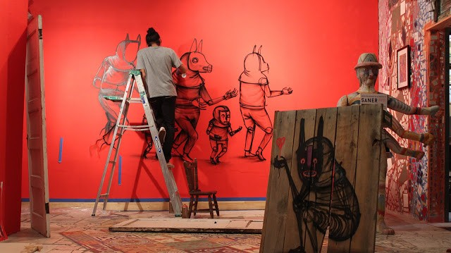 "Coverage: Saner ""Fragments Of The Soul"" @ Philadelphia's Magic Garden"